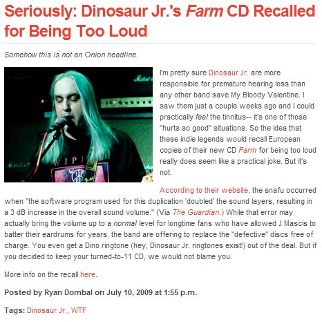 dinosaur jr is too loud booooooo