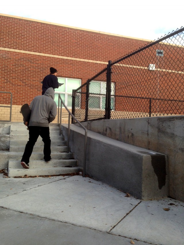 yeap, skated a 9 stair