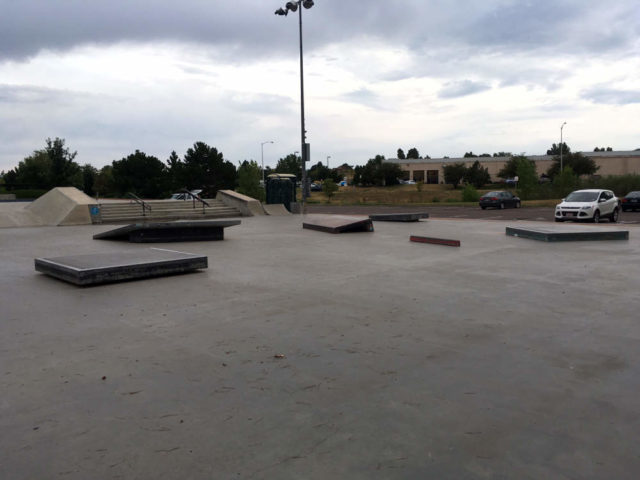 broomfield skatepark. i wish it was always this empty